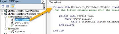 hide u0026 unhide filter columns with a slicer or filter drop down