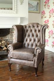Queen Anne Wingback Chair Leather 237 Best Wingbacks Images On Pinterest Wingback Chairs
