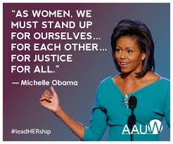 s words to lead by aauw