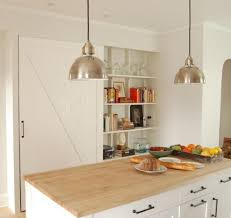 Industrial Pendant Lights For Kitchen by Industrial Uplight Pendant For A Bright Modern Kitchen Blog