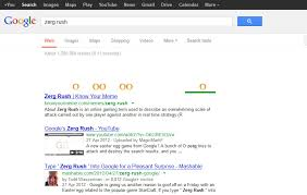 Zerg Rush Know Your Meme - google easter eggs our favourites