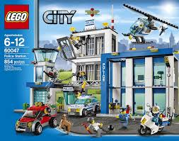Lego Headquarters Amazon Com Lego City Police 60047 Police Station Toys U0026 Games