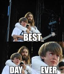 Jared Leto Meme - the day i met jared leto by pleasegivememymoneyback meme center