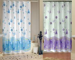 Wide Fabric Shower Curtain Gracious Fabric Shower Curtains Home Design As As