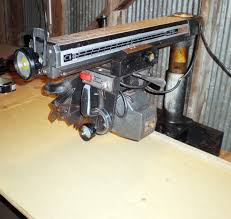 Craftsman Radial Arm Saw Table Radial Arm Saw Restoration With Usa Fluid The Unlimited Strongarm