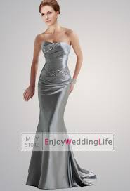 silver dresses for wedding collections of silver grey bridesmaid dresses wedding ideas