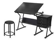 Black Drafting Table Drafting Table Ebay