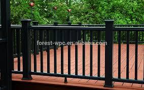 ringhiera in legno per giardino wpc esterno corrimano decorativi corrimano esterno ringhiere in