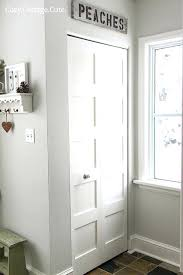 Replace Sliding Closet Doors With Curtains Replace Folding Closet Doors Best Closet Doors Ideas On Small