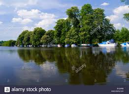 view of the river thames in pangbourne west berkshire uk