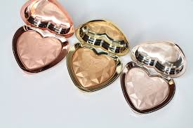 love light prismatic highlighter too faced love light prismatic highlighter review swatches