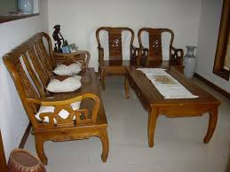 Chinese Living Room Furniture Set Asian Themed Living Room With Wood Sofa Popular Wood Sofa