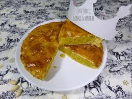 recettes de julie andrieu cuisine galette des rois à la frangipane façon julie andrieu presque