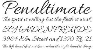 21 awesome free cursive tattoo fonts