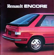 1986 renault alliance alliance u0026 encore