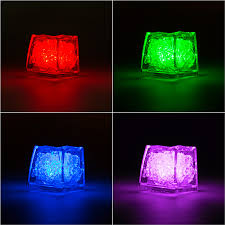 light up cubes submersible colored led light up cubes 12 pk smarty had