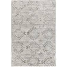 Ikat Area Rug Nimah Silver Ikat 5 Ft X 7 Ft 6 In Area Rug Nim46502 576 The