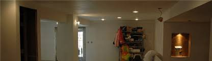 installing drywall for your finished basement contractor or no