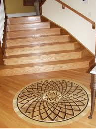Handrail Rosette Classic Rosette Medallion Design By Rennaissance Floor Inlays