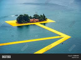 Floating Piers by The Floating Piers The Artist Christo Walkway On Lake Iseo St
