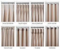 Different Drapery Pleat Styles Drapery Pleat Styles Drapery Curtain Ideas