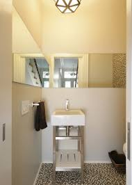 Powder Room Ideas 2014 Bright Kitchen Design With Yellow Color And White Wall Back To