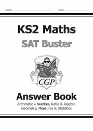ks2 maths sat buster answer book for tests in 2018 and beyond