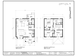 5 two story house floor plans with measurements sundog