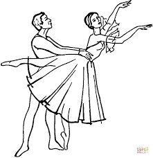 giselle ballet coloring free printable coloring pages