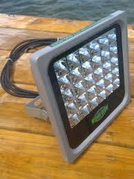 hydro glow fishing lights hydro glow fishing light fl 50 led floodlight aquatic