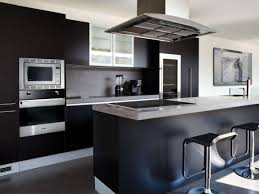 Red Kitchen Range Appliances Kitchen Modern Black Kitchen With Red Modern Laminated Stove And