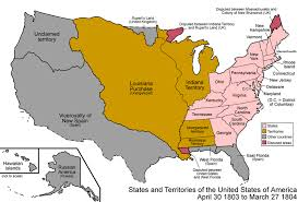 usa map louisiana purchase map indiana counties 1850 the united states in 1803 04 courtesy