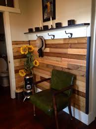 my entry way i used pine tongue and groove boards from lowes i