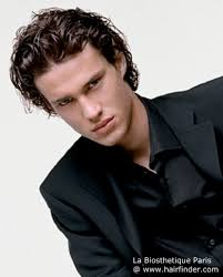 mens over the ear hairstyles long layered haircut for men with the hair combed over the ears