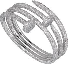 cartier tennis bracelet diamonds images Crh6004717 juste un clou bracelet white gold diamonds cartier png