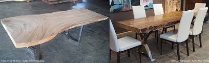 Acacia Table Rustic Live Edge Tables Solid Acacia Affordable Beat Costco Price