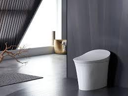 What Is A Toilet Bidet K 5401 Veil Intelligent Elongated Dual Flush Toilet Kohler