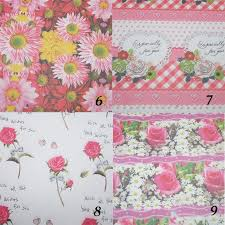 where can i buy packing paper free shipping 5 sheet roll pink flower designs festival gift