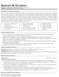 information technology resume qualifications on resume