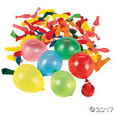 water balloons balloon bombs