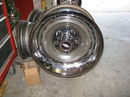Wide Rims For Chevy Trucks Chevy Truck Rally Wheels The 1947 Present Chevrolet U0026 Gmc