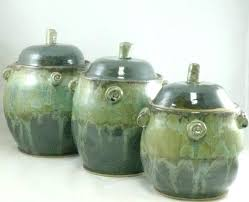 kitchen canisters australia ceramic kitchen canisters cfee green australia inspiration for