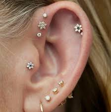 earrings that go up the ear earrings trends 2017 fashiontasty