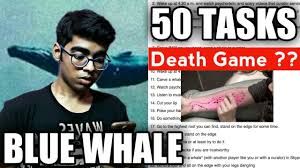 Challenge What Is It Blue Whale Challenge What Is It 50 Tasks Of The