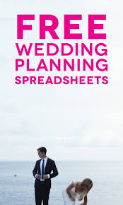 free wedding planning book customizable and free wedding spreadsheets a practical wedding
