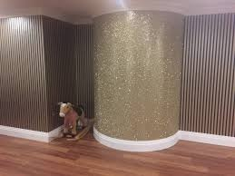 glitter wallpaper bathroom how to accessorise with glitter wallpaper inspiration design tbwp