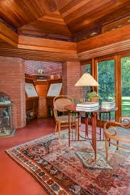 frank lloyd wright hexagonal home up for sale in new jersey curbed