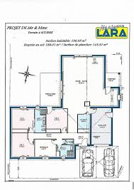 plan plain pied 4 chambres chambre plan maison plain pied 120m2 4 chambres inspirational plan