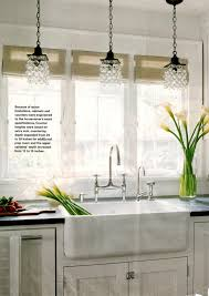 kitchen lighting over sink schoolhouse iron cottage bamboo beige