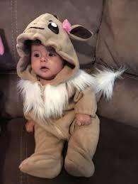 Eevee Halloween Costume Eevee Inspired Crochet Baby 3 Month 3 6 Month